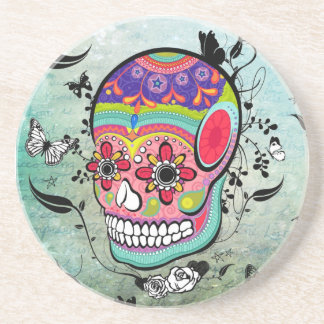 Tattoo Urban Muerte Day of the Dead. Coasters