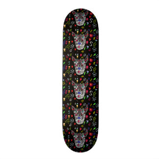Tattoo Wolf Skateboard