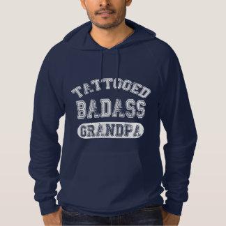 Tattooed Badass Grandpa Hoodie