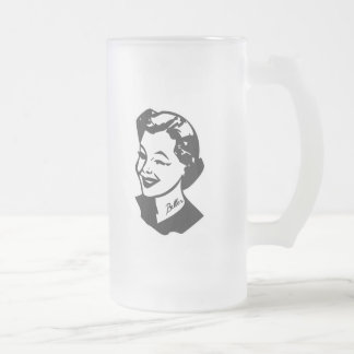 Tattooed Housewife - Baller 16 Oz Frosted Glass Beer Mug