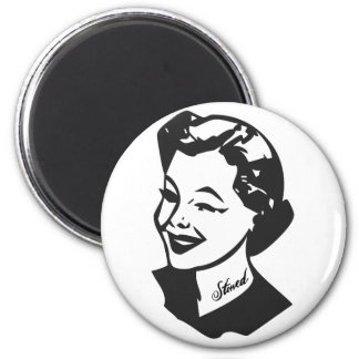 Tattooed Housewife - Stoned 2 Inch Round Magnet