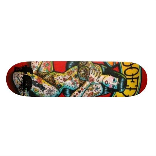 Tattooed-Lately, FS Skateboard
