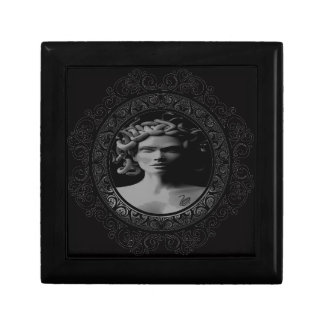 tattooed medusa keepsake box