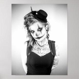 Tattooed Model - Ashley Lynn Poster