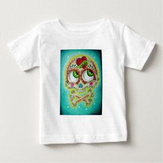 Tattooed sugar skull shirt