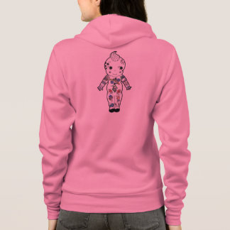 Tattooed Vintage Baby Traditional Style Tattoos Hoodie
