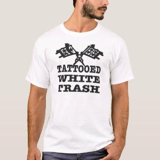 Trash shirts trash t shirts custom clothing online for Tattooed white trash t shirt
