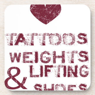 tattoos weights shoes female coaster