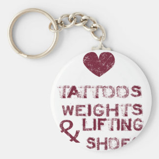 tattoos weights shoes female keychain