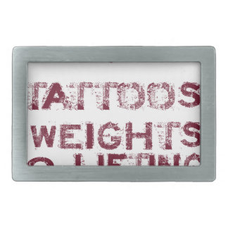 tattoos weights shoes female rectangular belt buckle