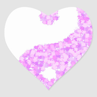tau2 heart sticker