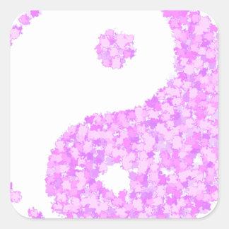 tau2 square sticker