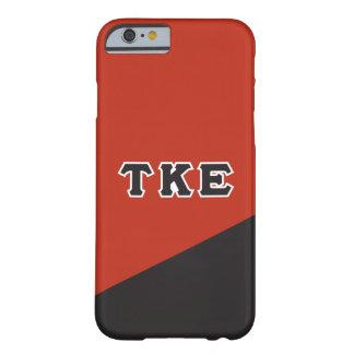 Tau Kappa Epsilon   Greek Letters Barely There iPhone 6 Case