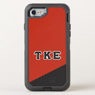 Tau Kappa Epsilon | Greek Letters OtterBox Defender iPhone 8/7 Case