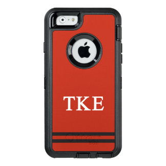 Tau Kappa Epsilon | Sport Stripe OtterBox Defender iPhone Case