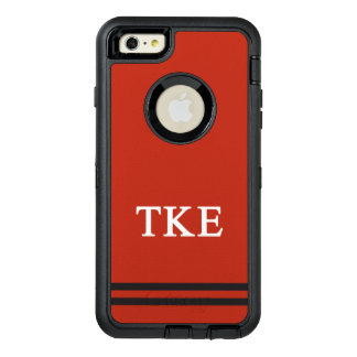 Tau Kappa Epsilon | Sport Stripe OtterBox Defender iPhone Case