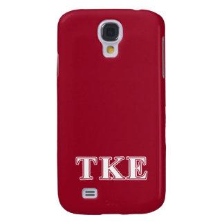 Tau Kappa Epsilon White and Red Letters
