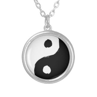 tau silver plated necklace
