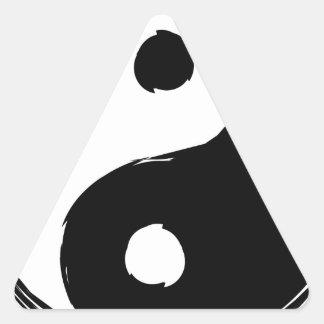 tau triangle sticker