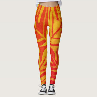 Tauati Fern of Mango Leggings