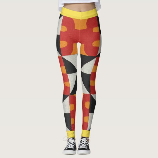 Tauati Mo'o Kane of Heavens Fire Leggings