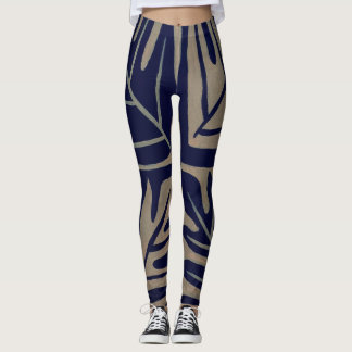 Tauati of Navy Leggings
