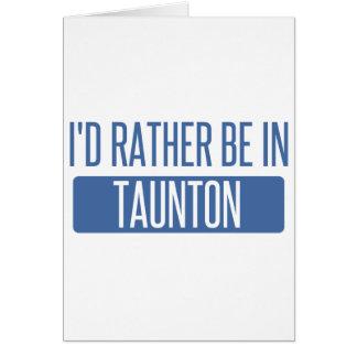 Taunton Card