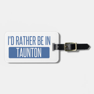Taunton Luggage Tag
