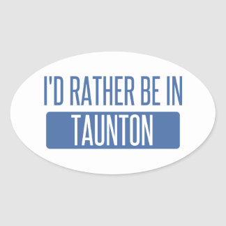 Taunton Oval Sticker