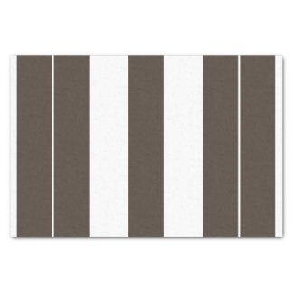 Taupe and White Striped 10lb Tissue Paper