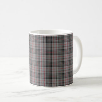 Taupe Grey Red Black Baby Tartan Plaid Coffee Mug