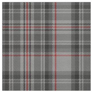 Taupe Grey Red Black Tartan Plaid Fabric