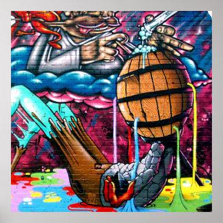 Taurian - Art Graffiti Spray Paint Magical liquid Poster
