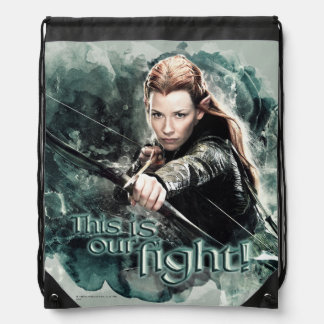 TAURIEL™ - This Is Our Fight Drawstring Bag