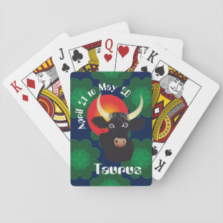 Taurus April 21 tons May 20 playing cards