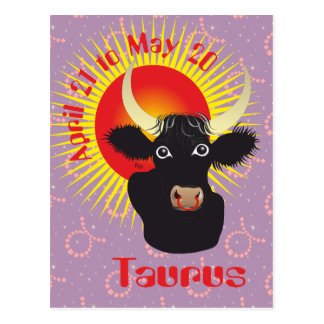 Taurus April 21 tons May 20 Postcards