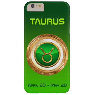 Taurus Astrological Sign Barely There iPhone 6 Plus Case