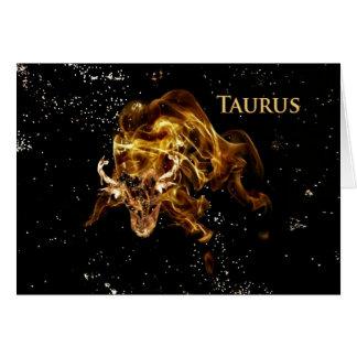 Taurus - Bull-Card Card