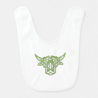 Taurus Bull Celtic Knot Bib