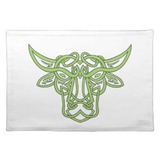 Taurus Bull Celtic Knot Placemat