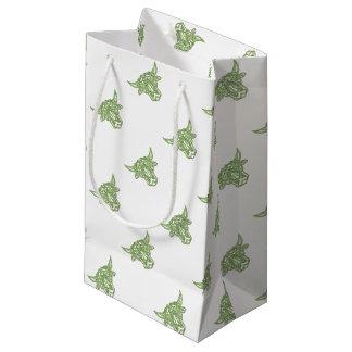 Taurus Bull Celtic Knot Small Gift Bag