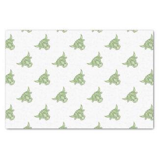 Taurus Bull Celtic Knot Tissue Paper