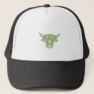 Taurus Bull Celtic Knot Trucker Hat