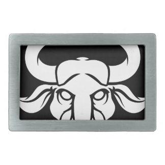 Taurus Bull Zodiac Astrology Sign Rectangular Belt Buckle