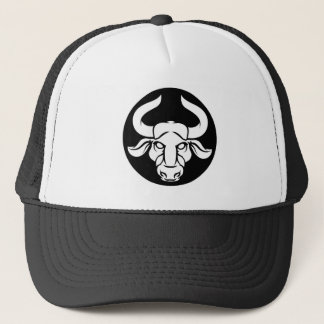 Taurus Bull Zodiac Astrology Sign Trucker Hat