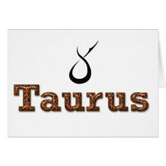 taurus, card