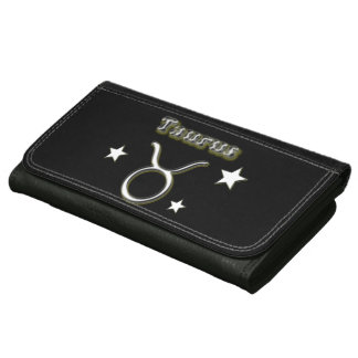 Taurus chrome symbol wallet