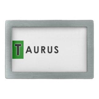 TAURUS COLOR BELT BUCKLE