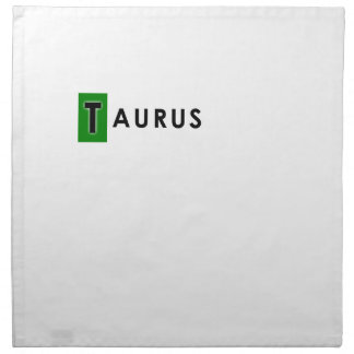 TAURUS COLOR NAPKIN