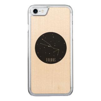 Taurus constellation carved iPhone 8/7 case